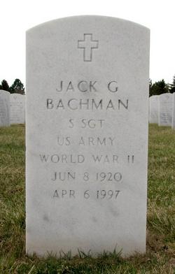 Jack G Bachman