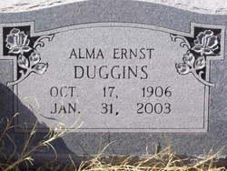 Alma Mary Ernst Duggins