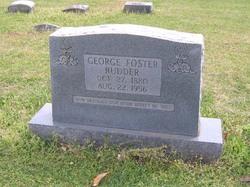 George Foster Rudder