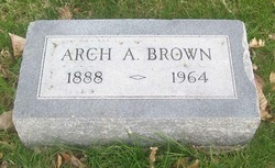 """Archie A. """"Arch"""" Brown"""