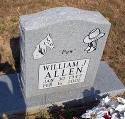 """William J """"Paw"""" Allen"""