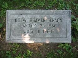 Hilda <I>Hummer</I> Benson