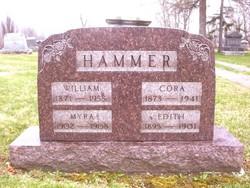 """Corrietta B. """"Cora"""" <I>Hoffmaster</I> Hammer"""