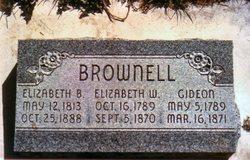 Elizabeth Bamber Brownell