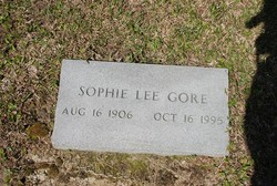 Sophie Lee <I>Gore</I> Gore