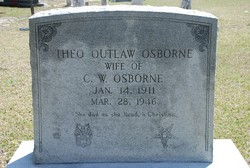 Adrie Theo <I>Outlaw</I> Osborne