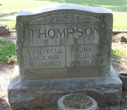 """Angelina """"Annie"""" <I>Bell</I> Thompson"""
