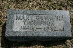 Mary Lavina <I>Gammon</I> Thompson