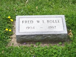Fred William Lee Bolle