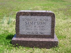 Loretta Jane Simpson