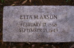 Etta M. Axon