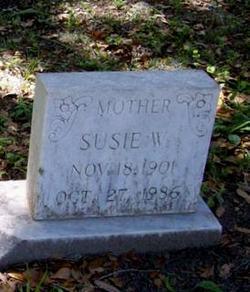 Susie Ella <I>Watts</I> Middleton