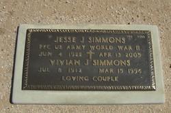 Vivian J Simmons