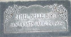 Ethel Belle <I>Brown</I> Bird
