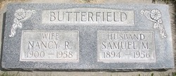 Nancy R <I>Hofhine</I> Butterfield