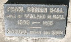 Pearl <I>Borden</I> Ball