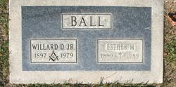 Esther Ruth <I>Miller</I> Ball