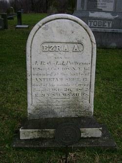 Sgt Ezra A Patterson