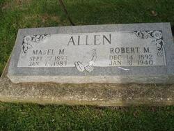 Mabel M <I>Bennett</I> Allen