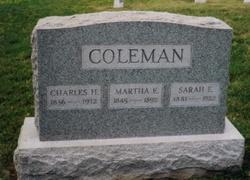 Martha E <I>Raye</I> Coleman