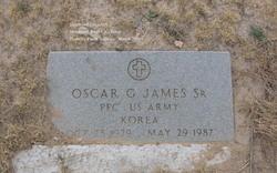Oscar George James, Sr