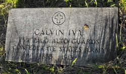 Pvt Calvin Ivy