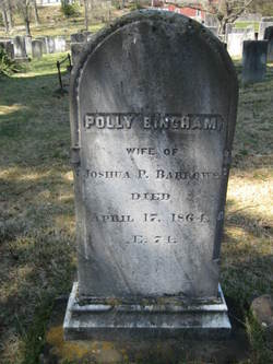 Polly <I>Bingham</I> Barrows