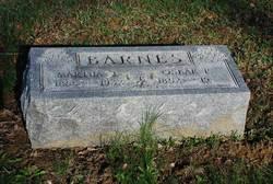 Martha T. <I>Hawkins</I> Barnes