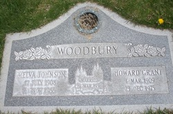 Melva <I>Johnson</I> Woodbury