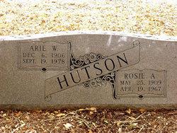 Rosie Ann <I>Cameron</I> Hutson