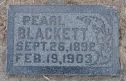 Pearl Blackett