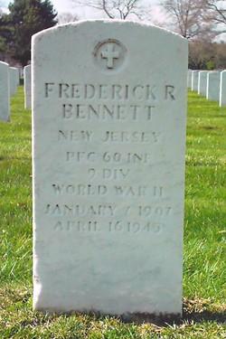 PFC Frederick R Bennett