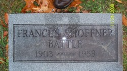 Frances King <I>Williams</I> Shoffner Battle