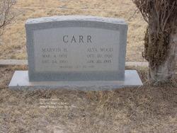 Marvin Huddle Carr