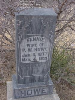 Fannie <I>Boles</I> Howe