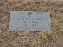 Charlie Ernest Simmons