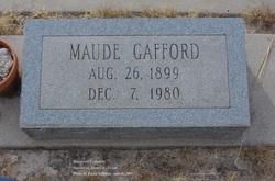 Maude <I>Ollis</I> Gafford