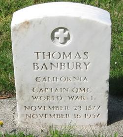 Capt Thomas Banbury