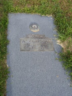 """Ace J """"AJ"""" Gresham"""