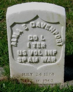 Alma Elmer Davenport