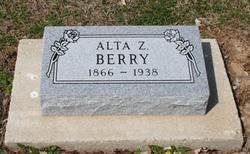 Alta Z. <I>Conder</I> Berry