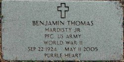 Benjamin Thomas Hardisty, Jr