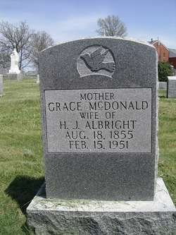 Grace <I>McDonald</I> Albright