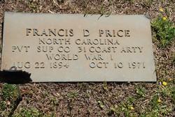 Francis Dillard Price
