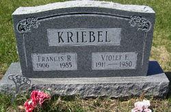 Francis Roy Kriebel