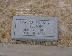 Lorena <I>Burney</I> Shelton