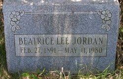 Beatrice Lee Jordan
