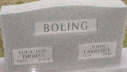 Lula May <I>Thomas</I> Boling