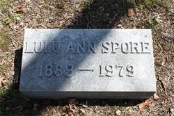 Lulu Ann <I>Griffith</I> Spore