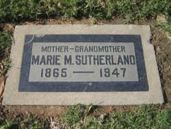"""Amalia Mary Magdelina """"Molly"""" <I>Schmitz</I> Baerecke Hayward Sutherland"""